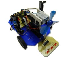 Fire Fighting Robot V2