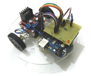 Arduino ile çizgi izleyen robot