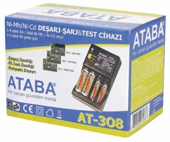 ATABA AT-308 Şarj - Deşarj ve Test Cihazı