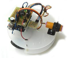 Diskbot Arduino Obstacle Avoiding Line Follower Robot