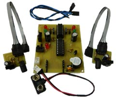 Obstacle Avoider Robot Circuit