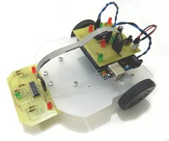 Mini Arduino Line Follower Robot