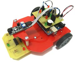 Mini Arduino Obstacle Avoiding Line Follower Robot
