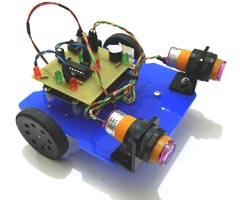 Mini Arduino Obstacle Avoider  Robot