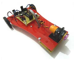 Mini Line Follower Robot With MZ80 Infrared Sensor