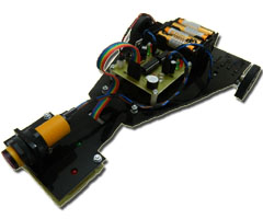 Fast line follower robot with obstacle detection