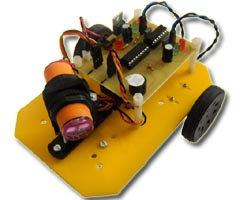 Obstacle Avoider Robot With MZ80 Sensor And Servo