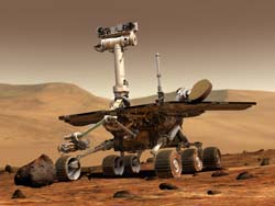 Spirit Nasa's Mars Explorer Robot