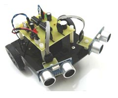 Obstacle Avoiding Robot With Ultrasonic Sensors